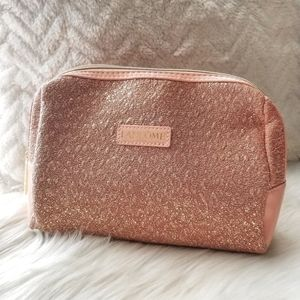 Lancome Pink Metallic Cosmetic Case